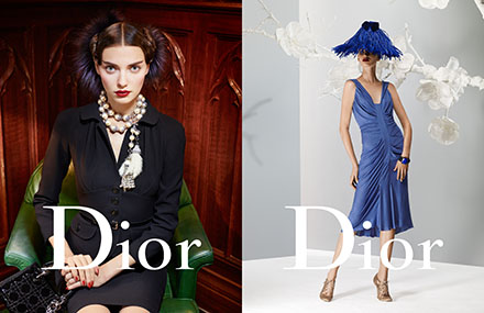 Shooting Christian Dior