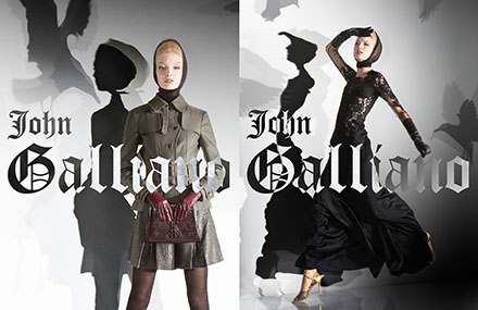 Shooting John Galliano