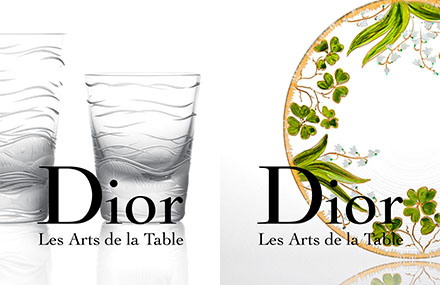 Shooting Dior - Arts de la Table